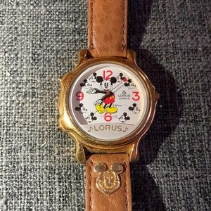 LORUS Mickey Mouse Animated watch.